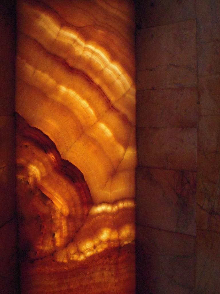 The stone window from Galla Placidia